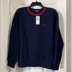 Polo Ralph Lauren, boys crew neck.  Size 14-16.